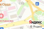 Схема проезда до компании Нотариус Булатова Ф.Р. в Усть-Каменогорске