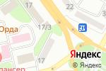 Схема проезда до компании Радужный Кот в Усть-Каменогорске