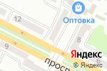 Схема проезда до компании DE GRAND PRIXI в Усть-Каменогорске
