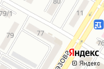 Схема проезда до компании DENNY ROSE T.KUROSAWA в Усть-Каменогорске