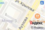 Схема проезда до компании Луна в Усть-Каменогорске
