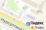 Схема проезда до компании Wаурма по-кавказски в Усть-Каменогорске