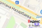 Схема проезда до компании Праздничная затея в Усть-Каменогорске