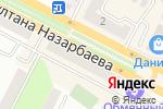 Схема проезда до компании Мир обуви в Усть-Каменогорске