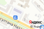 Схема проезда до компании Zoo Vet в Усть-Каменогорске