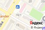 Схема проезда до компании AGFA CITY в Усть-Каменогорске