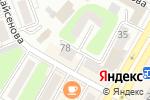 Схема проезда до компании MAKE-UP ROOM в Усть-Каменогорске