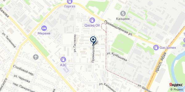 VK Expert, ТОО на карте Усть-Каменогорске