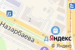 Схема проезда до компании FujiFilm в Усть-Каменогорске