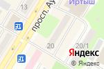 Схема проезда до компании Нур-Ломбард Восток, ТОО в Усть-Каменогорске