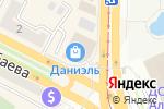Схема проезда до компании Mandarin Decor в Усть-Каменогорске