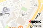 Схема проезда до компании Creative-kz в Усть-Каменогорске