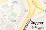 Схема проезда до компании Бут`с в Усть-Каменогорске