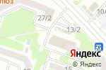 Схема проезда до компании Казкоммерц-полис в Усть-Каменогорске