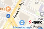 Схема проезда до компании Шоколадное дерево в Усть-Каменогорске