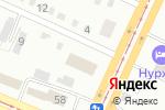 Схема проезда до компании Управление координации занятости и социальных программ Восточно-Казахстанской области в Усть-Каменогорске