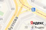 Схема проезда до компании Fabi в Усть-Каменогорске