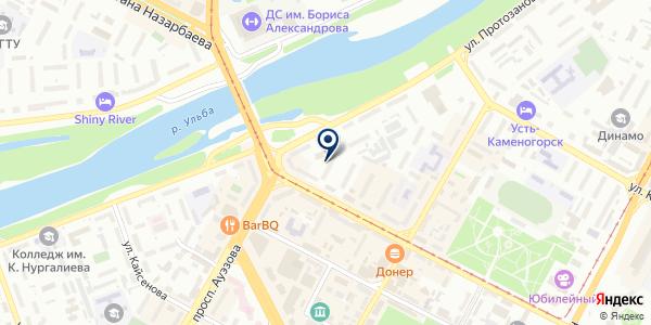 Альтернативный медицинский центр, ТОО на карте Усть-Каменогорске