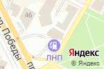 Схема проезда до компании Мега в Усть-Каменогорске