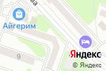 Схема проезда до компании Simona в Усть-Каменогорске