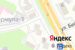 Схема проезда до компании Вояж в Усть-Каменогорске