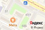 Схема проезда до компании Красный дракон в Усть-Каменогорске