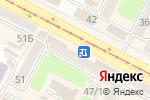 Схема проезда до компании Люкс в Усть-Каменогорске