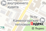 Схема проезда до компании Marwin Baby в Усть-Каменогорске
