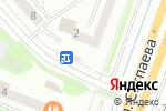 Схема проезда до компании Киоск по продаже фруктов и овощей в Усть-Каменогорске