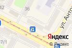 Схема проезда до компании Richi в Усть-Каменогорске