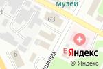 Схема проезда до компании Клуб Лидеров в Усть-Каменогорске