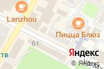 Схема проезда до компании Элис`с в Усть-Каменогорске