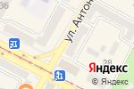 Схема проезда до компании The Old Pub of UK в Усть-Каменогорске