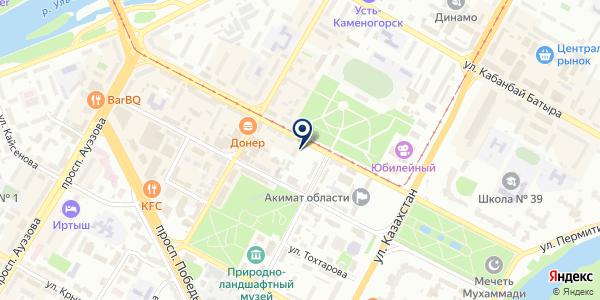 Alageum Electric на карте Усть-Каменогорске