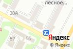 Схема проезда до компании De Luxe в Усть-Каменогорске