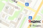 Схема проезда до компании Отдел жилищно-коммунального хозяйства, пассажирского транспорта и автомобильных дорог в Усть-Каменогорске