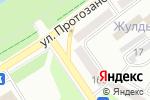 Схема проезда до компании КОРЕЯ в Усть-Каменогорске