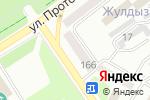 Схема проезда до компании Авто-Люкс в Усть-Каменогорске