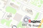 Схема проезда до компании Yokohama в Усть-Каменогорске
