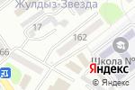 Схема проезда до компании Пирамида ЛТД в Усть-Каменогорске