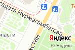 Схема проезда до компании Арт-Деко в Усть-Каменогорске
