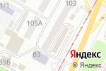 Схема проезда до компании Rock shop в Усть-Каменогорске