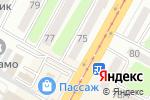 Схема проезда до компании ТРЕНД в Усть-Каменогорске