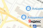 Схема проезда до компании Қорғау в Усть-Каменогорске