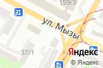 Схема проезда до компании Конный двор на 22 км в Усть-Каменогорске
