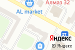 Схема проезда до компании Нотариус Ситканов С.Ж. в Усть-Каменогорске
