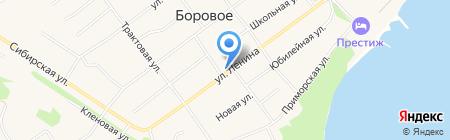 РУСЬ на карте Борового