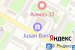 Схема проезда до компании Цесна Гарант в Усть-Каменогорске