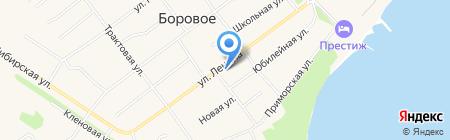 Продукты на карте Борового