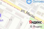 Схема проезда до компании Айсберг в Усть-Каменогорске